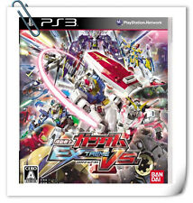 PS3 GUNDAM EXTREME VS JAPANESE SONY Playstation Action Games Namco Bandai