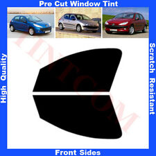 Pre Cut Window Tint  Peugeot 206 5 Doors Hatchback 1999-2010 FrontSides AnyShade