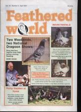 FEATHERED WORLD MAGAZINE - April 2001 Poultry Pigeons
