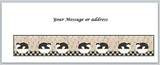 30 Personalized Cats Return Address Labels Buy 3 get 1 free (bo 230)