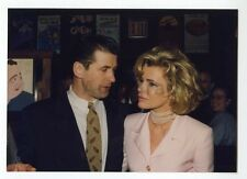 Kim Basinger & Alec Baldwin - Vintage Candid Photo by Peter Warrack
