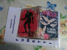 """DIABOLIK N. 1 """"IL RE DEL TERRORE""""  ANNO 1973"""