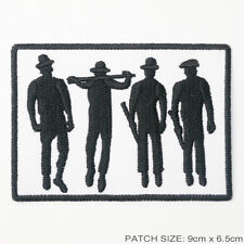 A CLOCKWORK ORANGE Droogs Embridered Iron-On Patch - UK Seller, Free Post, #1A06