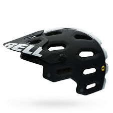 Bell Super 2 MIPS Cycling Helmet (Matte Black/White Viper / Small Size)