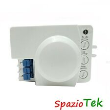 SENSORE MOVIMENTO CREPUSCOLARE a Radar Microwave Motion Sensor Switch Wireless