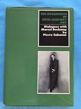 DIALOGUES WITH MARCEL DUCHAMP - FIRST AMERICAN EDITION