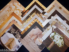 12x12 Scrapbook Paper Colorbok Wedding Bridal Ceremony Reception Bride Groom 25