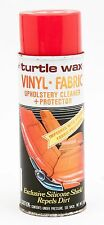 Vintage Turtle Wax Upholstery Cleaner Spray Can Vinyl And Fabric Protector 1984