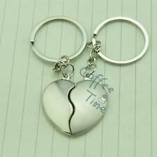 Cute Soul Mates Forever Love Couple Keychain Metal Key Chain Keyring Keyfob Gift