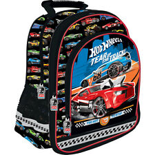 Hot Wheels Backpack School Bag Travel Boys Cars