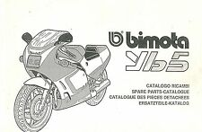 CATALOGO RICAMBI BIMOTA YB5 COPY SPARE PARTS CATALOGUE MULTILANGUAGES