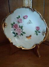 """Shafford """"Rose Garden"""" Porcelain Handel Candy Dish"""