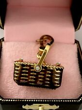 Juicy Couture  RARE 2006 Picnic Basket charm VHTF! Retired NIB