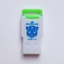 USB 2.0 MMC SD SDHC Memory Card Reader/Writer/Adapter 2/4/8/16/32/64GB Green