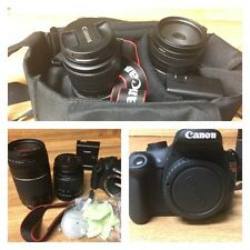 Canon EOS Rebel T5 SLR Camera-Saving Bundle With 2 Lenses-Bag and More