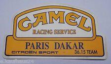 Aufkleber Rallye PARIS-DAKAR CITROEN SPORT Camel Racing Service 90er Sticker