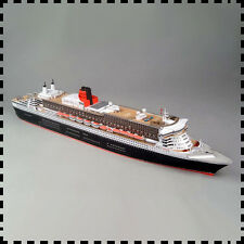 3D DIY Paper Model Kit 1:400 Scale Royal Mail Steamer RMS Queen Mary 2 Liner