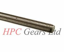 Stainless Steel M2 2mm Threaded Bar Rod Studding 300mm All Thread HPC Gears