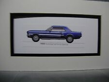 1968 Ford Mustang  California Special  From  50 Year Anniversary Exhibit