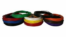 18 GAUGE WIRE 11 ROLLS 10 FT EA PRIMARY AWG STRANDED COPPER POWER REMOTE CABLE