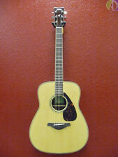 Yamaha FG830 Dreadnought Acoustic Guitar, Natural, Free Shipping Lower USA