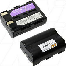 7.4V 1.5Ah Replacement Battery Compatible with Konica Minolta NP-400
