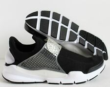 NIKE MEN SOCK DART ID BLACK/WHITE SZ 12 [880957-991]