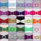 150 x Stuhlschleifen Stretch Schleifenbänder Schleifen für Stuhlhussen Hochzeit