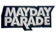 MAYDAY PARADE Embroider Logo Iron On Sew On Shirt Bag Hat Applique Badge Patch