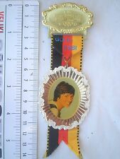 GOLD ROSI Mittermaier Medal Germany Alps skiing Olympic Games Wasserburg 1977