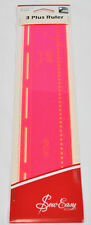 Sew Easy 3 Plus Ruler 12 Inches x 2.5 Inches ERGG09.PNK