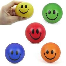 Cute Baby Kids Strength Training Ball Smile Face Sponge Stress Relief  Grip Toys
