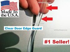 TOYOTA Door Guards Protectors molding Trim 4 Door Kit CLEAR DOOR EDGE GUARDS