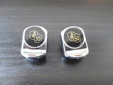 Vintage style Campagnolo 50th Anniversary Toe strap buttons