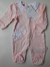 PUMPKIN PATCH INFANT BABY GIRL BUNNY COTTON COVERALL SIZE 0000 NEWBORN