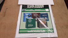 2000 World Stamp Album Supplement, two post fits Harris other years available