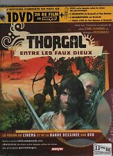 Thorgal - Entre les Faux Dieux. Album + DVD. 2005. Etat neuf