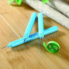 1Pc Origami Quilling Paper DIY Craft Needle Slotted Pen Handcraft Tool Wholesale