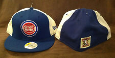 Detroit Pistons NEW ERA 59FIFTY Fitted Hat NBA Hardwood Classics Throwback 7 5/8