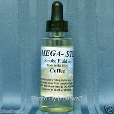COFFEE Scented Smoke Fluid For Lionel HO G O O27 Steam Diesel Engines Cabooses