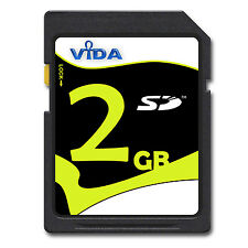 New 2GB High Speed SD Memory Card For TomTom Toyota Aygo Connect Multimedia GPS