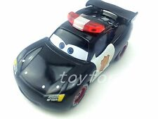 Mattel Disney Pixar Cars Police  McQueen Metal Toy Car 1:55 Loose In Stock