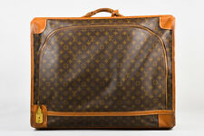 Louis Vuitton The French Luggage Company Brown Coated Canvas Pullman Suitcase