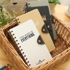 """My Mind"" 1pc Cute Coil Spiral Diary Sketchbook Blank Paper Journal Notebook"