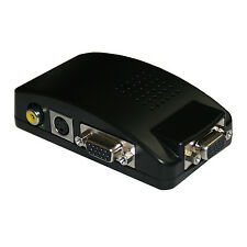 Cámara De Cctv DVR DVD TV S-video A Entrada Vga Conversor Adaptador de PC de salida VGA