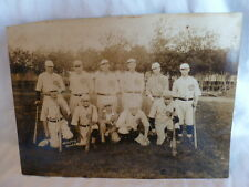 Original 1920's-1930's baseball team photo from Minot, North Dakota