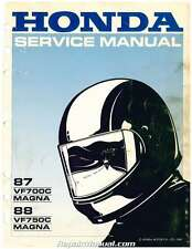 1987-1988 Honda VF700C Magna VF750C Magna V45 Service Manual - by RepairManual