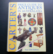 2000 CARTER'S Price Guide to Antiques in Australasia Carters antique furniture