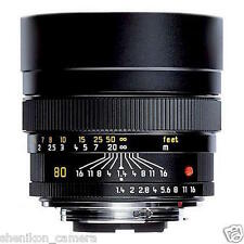 100% New Unused Leica Summilux-R 80mm F1.4 Tele Portrait Lens 11349