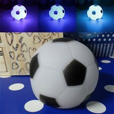 Color Changing Soccer Football LED Light Night Lamp Party Decor Gift New FW